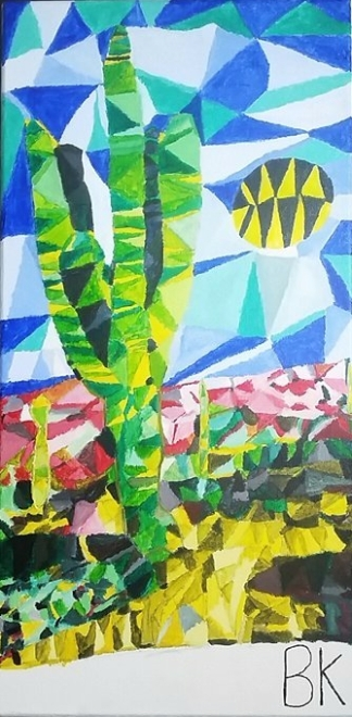 Multi Dimensional Cactus Landscape